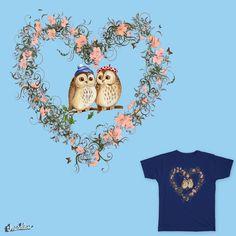 Owl in Love Heart Design for Nature Lovers Love Heart, Owl, Teddy Bear, Lovers, Artist, Artwork, Nature, Animals, Design