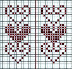 Cross Stitch Numbers, Cross Stitch Heart, Cross Stitch Borders, Cross Stitch Alphabet, Cross Stitch Designs, Cross Stitching, Cross Stitch Embroidery, Cross Stitch Patterns, Knitting Charts
