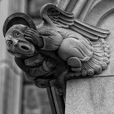 Cathedral Gargoyles | Washington National Cathedral Gargoyle | Flickr - Photo Sharing!