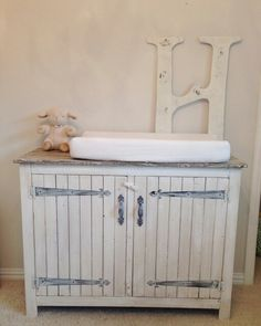 Baby changing table made by Big Fish Trading Co