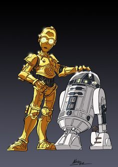 C3-PO and R2-D2
