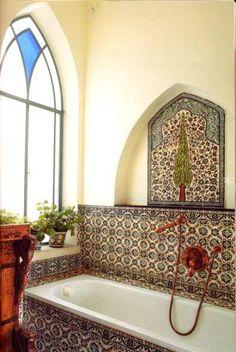 Palestinian tiles = dream bathroom for us!