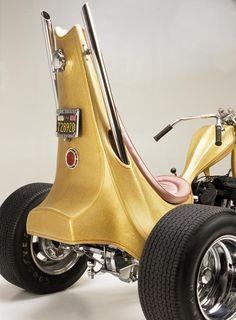 MOTORCYCLE 74: Ed - BIG daddy - Roth custom chopper                                                                                                                                                                                 More