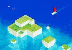Hexel / trixel artwork