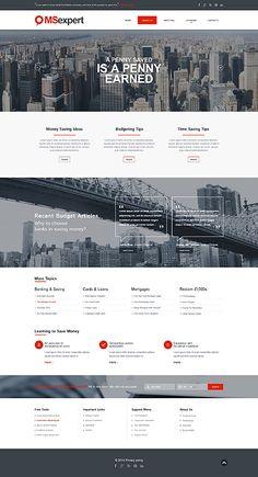 Template 50515 - Business Responsive Website Template