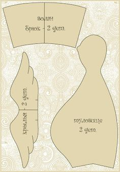 Mimin Dolls: tilda grávida