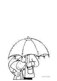 thema onder mijn paraplu - versieren met blauwe playmais