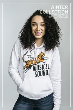 New Musical Sound Tiger Hoodie.