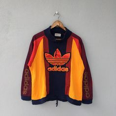 Items similar to Rare! on Etsy Adidas Vintage, Cute Swag Outfits, Sporty Outfits, Urban Outfits, Vintage Outfits, Vintage Clothing, Adidas Trefoil Hoodie, Stylish Hoodies, Urban Apparel