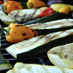 Try this easy BBQ dish for a quick lunch or evening meal in the sunshine Evening Meals, Eggplant, Yogurt, Zucchini, Bbq, Spices, Easy Meals, Lunch, Dishes