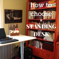 Important considerations when choosing a standing desk from the Streamlife.ca Blog.