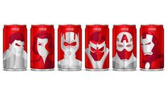 Marvel Mini Cans