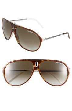 153885dda7438 Carrera Eyewear  Hots  64mm Aviator Sunglasses