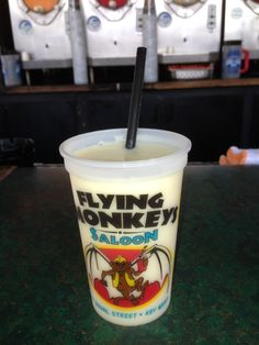 Flying Monkeys....Best frozen drinks on Key West! I'm pretty sure we still have some of the cups from our last trip!