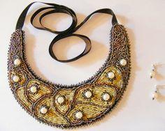 handmade Glass Jewelry, Beaded Jewelry, Glass Beads, Beaded Necklace, Semi Precious Beads, Beaded Collar, Beaded Embroidery, Beadwork, Shop My