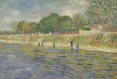 Bank of the Seine, 1887, Vincent van Gogh, Van Gogh Museum, Amsterdam (Vincent van Gogh Foundation)