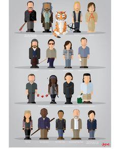 The Walking Dead by @jobydove
