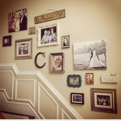 Staircase collage