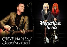MonaLisa Twins on tour with Steve Harley & Cockney Rebels Steve Harley, News Blog, Great Quotes, Rebel, Twins, Gemini, Twin, Twin Babies