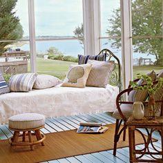 Make a Sleeping Porch - Vintage Coastal Style - Coastal Living