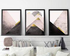 Trending Now Art Instant Download Set of 3 Prints Print