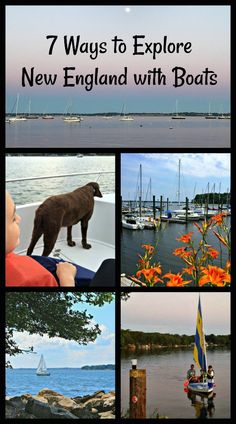 There are so many ways to explore New England USA by boat with families or without. Here are some of my favorites. You can also find a sailing summer camp for your kids. Usa Travel Guide, Travel Usa, Travel Guides, Travel Tips, Travel Advice, Travel Articles, Spain Travel, Travel Hacks, Travel Photos