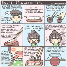 The Japanese Way of Using Chopsticks + Sushi Etiquette in Japan