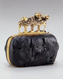 whoa - a badass bag - brass knuckles! Yet, I find it strangely beautiful.
