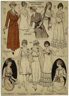 Image result for 1919 nightgowns