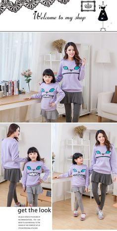 Aliexpress.com : Buy 2015 Winter Cartoon Zipper Mouth Smile Cat Shoulder 3D Ear Jumper Pullover Sweatshirt Family Fitted Children Adult Top 6Color from Reliable child motorcycle suppliers on Sexy Woman Line | Alibaba Group