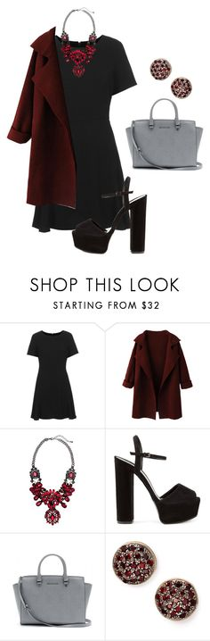 """""""the devil doesn't always wear prada"""" by alexamkincade ❤ liked on Polyvore featuring Topshop, H&M, Gucci, MICHAEL Michael Kors and Arik Kastan"""