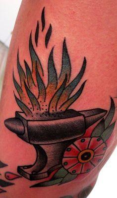 Anvil Tattoo by Gonzalo Muñiz Matito