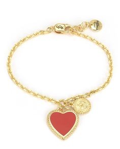 ENAMEL #HEART WISH #BRACELET - Juicy Couture