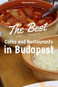 Guide to the best cafés, coffee houses, restaurants and food shops in Budapest, Hungary Not in English though! Destinations D'europe, Hungary Travel, Hungary Food, Budapest Travel, Hungarian Recipes, Cool Cafe, Backpacking Europe, European Travel, Travel Europe