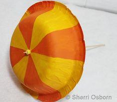 How to Make Umbrella, craft for kids