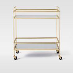 Terrace Bar Cart #westelm