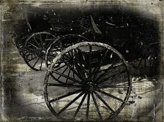 Amish Cart Wheels Grunge All rights reserved © Angelandspot