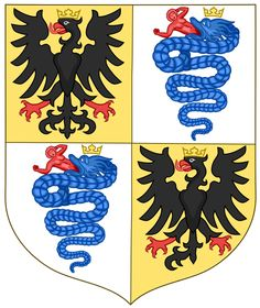 Arms of the House of Sforza - Gian Galeazzo Maria Sforza - Wikipedia