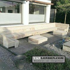 U-bank van steigerhout ... www.vanlonden.com