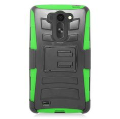 EGC Advanced Armor w/ Holster LG G Vista Case - Green
