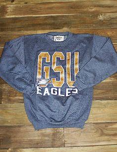 RussellApparel NCAA GSU Georgia Southern University Love My Eagles Toddlers Crew Neck Fleece