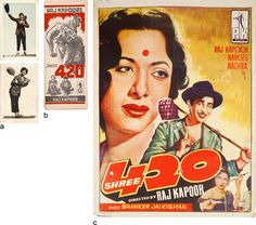 #Shree420(1955) #RajKapoor #PostCard #PromotionalBooklet #MoviePoster #NoReserveAuction(Oct15-16,2014)