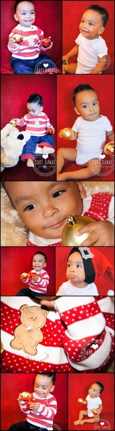 Christmas is here!! | Baby Matthew | www.facebook.com/thebestpictures | PHOTOGRAPHY BY SURI DANAE