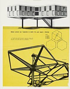 Marcel Breuer building piece, Rotterdam
