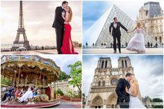 """La cite de l'amour""-miasto miłości-sesja ślubna #Paryż"