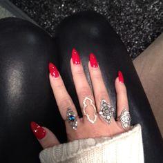 Mariel + rings. #RandM approved.