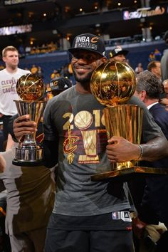 cb5856d37ee LeBron James wins his 3rd Finals MVP trophy. Lebron James Championship