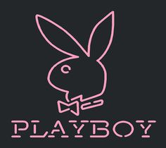 Playboy Logo Neon Sign