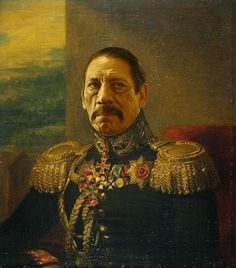 Famous people painted as Russian generals (19 Photos)