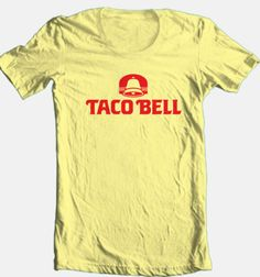 Taco-Bell-Tshirt-cool-retro-70s-80s-fast-food-mexican-restaurant-junk-tee